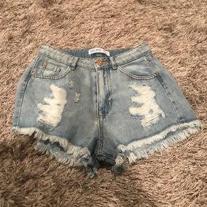 ZARA - Women's Jean Shorts